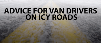 Advice for van drivers on icy roads.